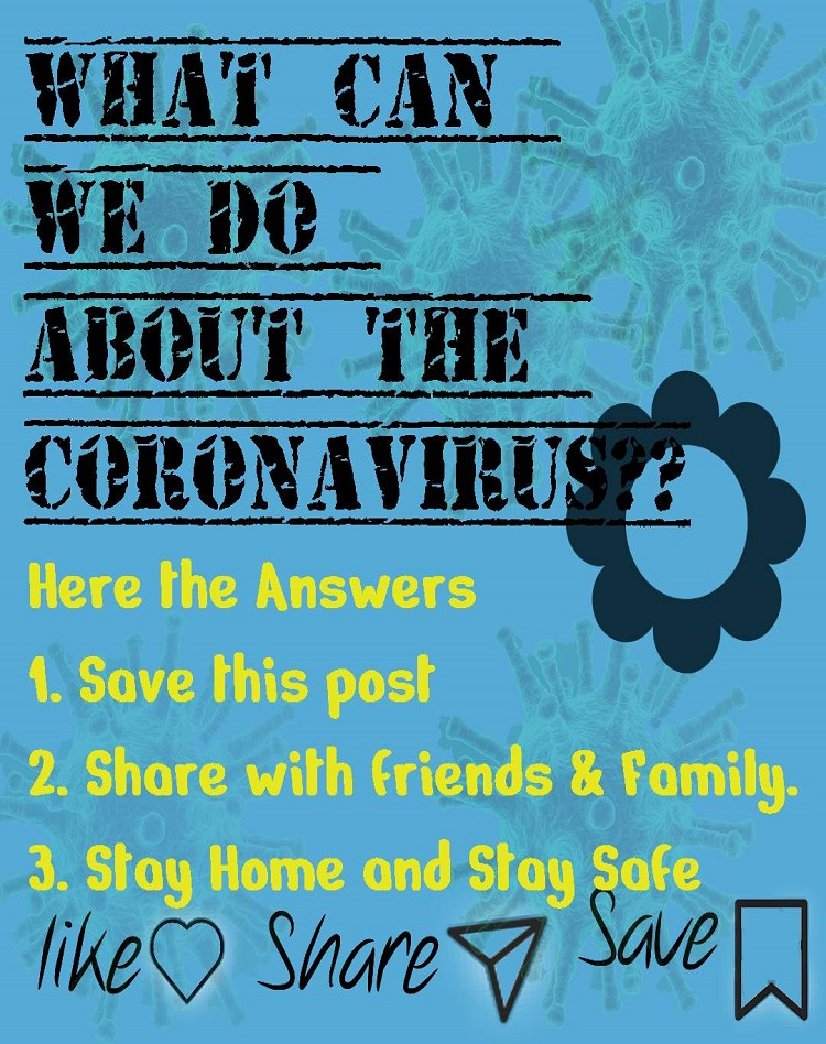 What Can we do about Coronavirus?