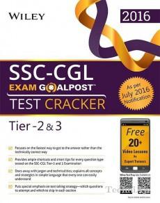 Wiley's SSC- CGL Exam Goalpost Test Cracker, Tier- 2 & 3(Paperback)