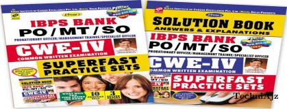 IBPS Bank PO/MT/SO CWE- IV Superfast Practice Sets (With Solution Book Free)(Paperback)