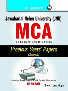 JNU: MCA Entrance Examination Previous Years Papers (Solved)(Paperback)