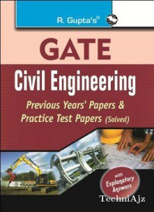GATE Civil Engg. Papers(Paperback)