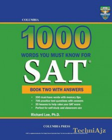 Columbia 1000 Words You Must Know for SAT: Book Two with Answers(Paperback)