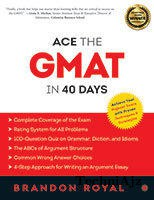 Ace The Gmat In 40 Days(Paperback)