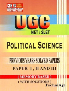 Political Science Previous Years Solved Papers For Ugc- Net- Slet Paper 2- 3 (Paperback)(Paperback)