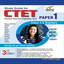 Study Guide for CTET Paper 1- English (Class 1- 5 teachers)(Paperback)