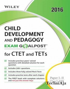 Wiley's Child Development and Pedagogy, Exam Goalpost, for CTET and TETs, Paper I- II, Class I- VIII(Paperback)