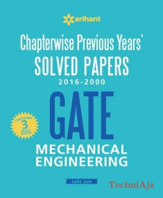 Chapterwise Previous Years' Solved Papers (2016- 2000) GATE Mechanical Engineering(Paperback)
