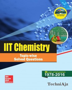 IIT Chemistry Topic- wise Solved Questions(Paperback)