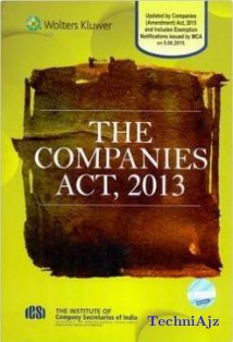 The Companies Act 2013- Pocket Edition(Hardcover)