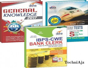 IBPS- CWE Bank Clerk 2016 Simplified (Guide+ 101 Speed Tests+ General Awareness 2017)(BoxSet)