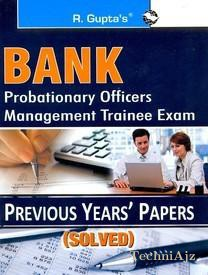 Bank P. O. /MT Previous Solved Papers(Paperback)