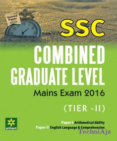 SSC Combined Graduate Level Mains Exam Tier- II, Paper- 1 & 2(Paperback)