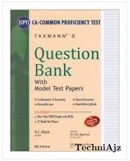 Question Bank With Model Test Papers (ca- Cpt)(Paperback)