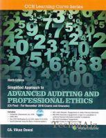 Simplified Approach to Advanced Auditing And Professional Ethics (For CA Final)(Paperback)