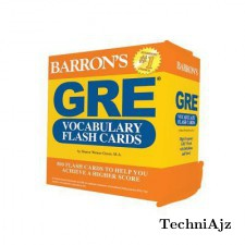 GRE Vocabulary Flash Cards(Other)