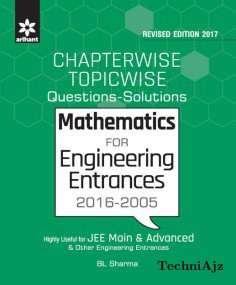 Chapterwise Topicwise Questions- Solutions MATHEMATICS for Engineering Entrances 2016- 2005(Paperback)