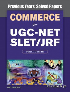 Commerce for UGC- NET SLET/JRF, Paper I, II and III Previous Years' Solved Papers(Paperback)