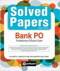 Solved Papers (Upto 2015) Bank PO Exam