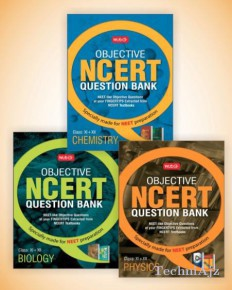 Objective NCERT Question Bank for NEET- Physics+ Objective NCERT Question Bank For NEET- Chemistry+ Objective NCERT Question Bank for NEET- Biology(Paperback)