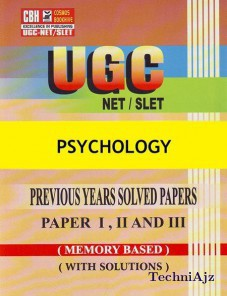 Psychology Previous Years Solved Papers For Ugc- Net- Slet Paper- 1- 2- 3 (Paperback)(Paperback)