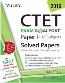 CTET Solved Papers and Mock Tests, Paper I: All Subjects (Class I- V)(Paperback)