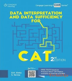 Data Interpretation and Data Sufficiency for CAT(Paperback)
