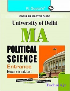 Delhi University M. A. Political Science Entrance Test Guide(Paperback)