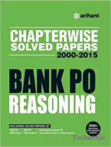Chapterwise Solved Papers 2000-2015 Bank PO REASONING