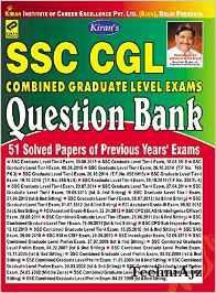 SSC CGL Paper Exam Question Bank From 1999 To 2015 English Medium (51 Previous Year Exams Solved Papers)