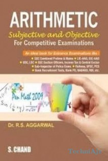 Arithmetic For Competitive Exams  (R. S. Aggarwal) - English, Paperback