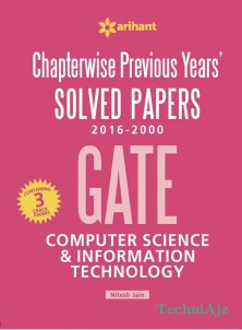 Chapterwise Previous Years' Solved Papers (2016- 2000) GATE Computer Science and Information Technology(Paperback)