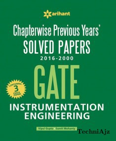 Chapterwise Previous Years' Solved Papers (2016- 2000) GATE Instrumentation Engineering(Paperback)
