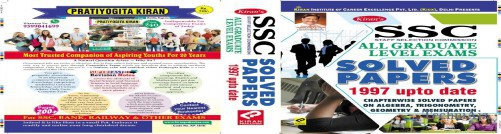 Kiran's Ssc All Graduate Level Exams Solved Papers 1997 Up To Date English(Paperback)