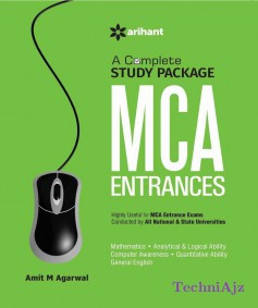 A Complete Study Pacakage for MCA Entrance of All Indian Universities(Paperback)