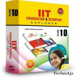 Combipack IIT foundation for class- 10(Paperback)