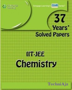 37 Year's Solved Papers iit- Jee: Chemistry(Paperback)