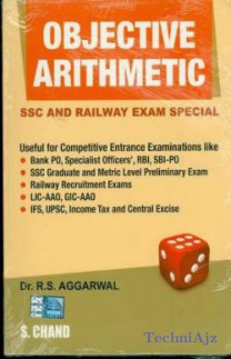 Objective Type Arithmetic - Railway and SSC Examination Special 1st Edition  ( R. S. Aggarwal) English, Paperback