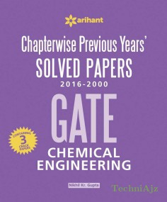 GATE Chapterwise Solved Papers- Chemical Engineering(Paperback)