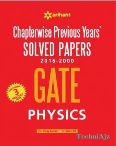 Chapterwise GATE Physics Solved Papers(2016- 2000)(Paperback)