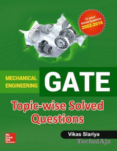 GATE Mechanical Engineering Topicwise Solved Questions 2017(Paperback)