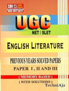 english literature previous years solved papers for ugc net paper 2- 3 (Paperback)(Paperback)