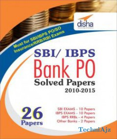 IBPS (And SBI) Bank PO (26 papers) Solved Papers - (Disha Experts) English,Paperback