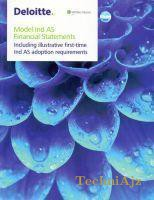 Model IND AS financial Statements(Paperback)