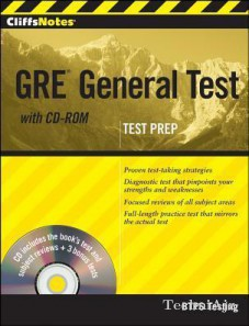 Cliffsnotes GRE General Test[ With CDROM](Paperback)