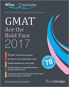 Wiley's Gmat Ace The Bold Face 2017(Paperback)