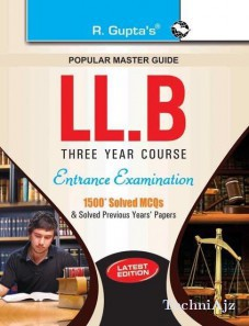 LLB (3 Years Course) Entrance Examination Guide(Paperback)