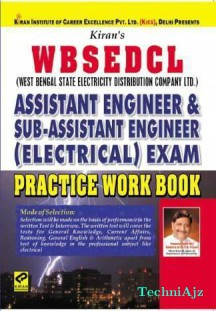 WBSEDCL (West Bengal State Electricity Distribution Company ltd. ) Assistant Engineer & Sub- Assistant Engineer (Electrical) Exam Practice Work Book(Paperback)