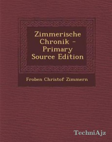 Zimmerische Chronik (German)(Paperback)