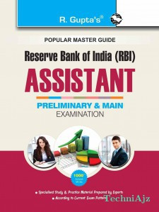 Reserve Bank of India: Assistants (Preliminary & Main) Recruitment Exam Guide(Paperback)