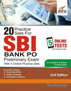 20 Practice Sets for SBI PO Preliminary Exam with 5 Online Practice Sets(Paperback)